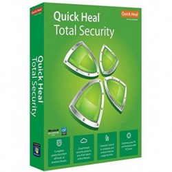 Quick Heal Total Security Latest Version (2 PC/1 Year)