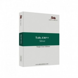Tally Accounting Software Tally ERP 9 Silver Software