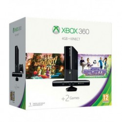 Microsoft Xbox 360 4GB Kinect With Kinect Adventures And Kinect Sports Ultimate