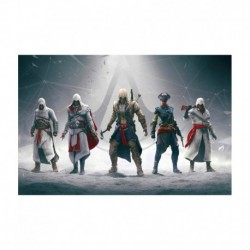 Da Vinci Posters Assassins Creed Heroes Cm Poster -30x47 Cm