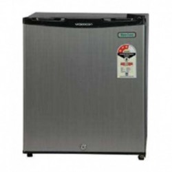 Videocon 47 Ltr REF VC060P Marvel Mini BAr Direct Cool Refrigerator Silver Hairline