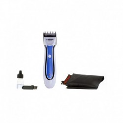 Nova NHT-1062 Professional Beard Trimmer - White and Blue