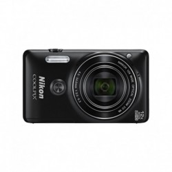 Nikon Coolpix S6900 16.0MP Digital Camera (Black)