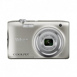 Nikon Coolpix A100 20.1MP Digital Camera - Silver