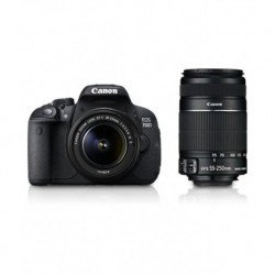 Canon EOS 700D with 18-55mm + 55-250mm Lens
