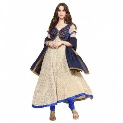 Shakumbhari Blue Pure Georgette Stitched Suit