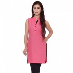GMI Pink Cotton Kurti
