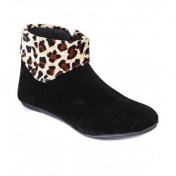 Do Bhai Beige Ankle Length Boots