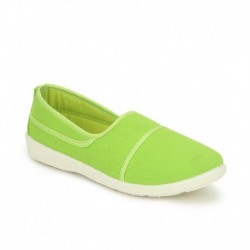 American Swan Berry Parrot Green Casual Shoes