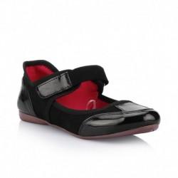 Catwalk Black Flat Casual Shoes