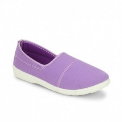 American Swan Berry Purple Casual Shoes