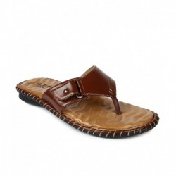Tiptopp Brown Slippers