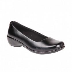 Feel It Black Wedges Formal Shoes