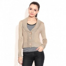 Madame Brown Acrylic Pullover