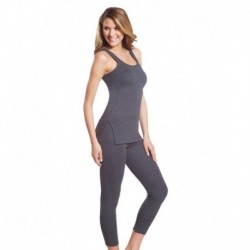 Jockey Thermal Pair Of Grey Camisole Top And Legging