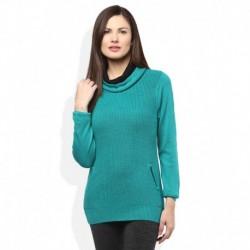 Madame Green High Neck Sweater
