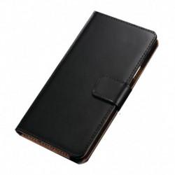Grafins Leather Flip Cover Case For Lenovo K3 Note - Black