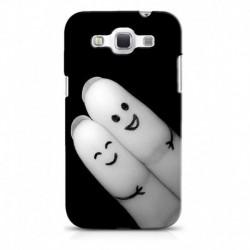 Snooky Back Cover For Samsung Galaxy Grand Quattro - Black