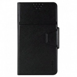 Molife Universal   Flip Cover For Swipe Junior  - Black