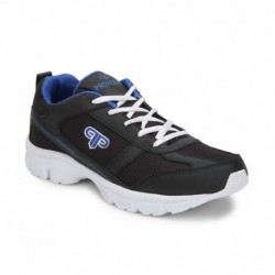 Provogue Black Sports Shoes