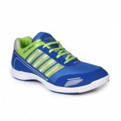 Columbus Green Mesh/textile Running Sport Shoes