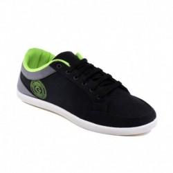 Globalite Stumble Black Grey Men Casual Shoes