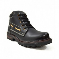 Zoot24 Black Faux Leather Boot