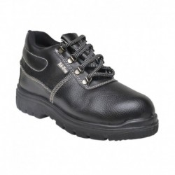 Tek-Tron Black Safety Shoes