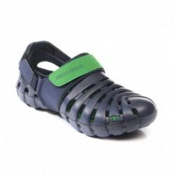 Provogue PV1061 Blue/Green Clog Shoes