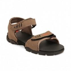 Sparx Brown Floater Sandals