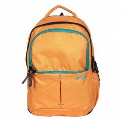 American Tourister Yellow Polyester Backpack