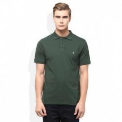 Original Penguin Green Solid Polo T Shirt