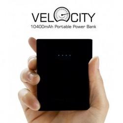 Portronics Velocity 10400 mAh Power Bank - Black
