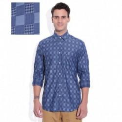 Arrow Blue Checkered Shirt