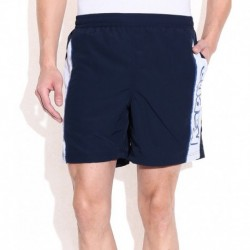 Kappa Navy Cotton Blend Shorts