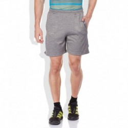 Proline Gray Cotton Blend Shorts