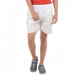 Burdy White Polyester Short