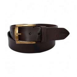 Woodland Brown Leather Casual Belt