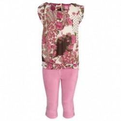 Peppermint Pink Capri Set