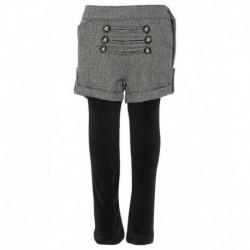ttle Kangaroo Black Color Leggings For Kids