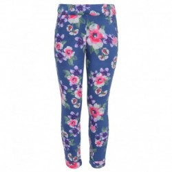United Colors Of Benetton Blue Printed Jeggings