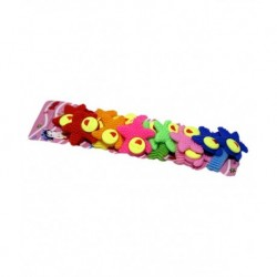 Lexuva Rubber Hairband - 48 Pieces