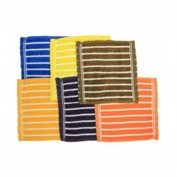 Baby Nice Multicolour Cotton Handkerchief for Kids - Pack of 12