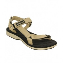 ro Uno Canvas Beige Floater Sandals for Boys