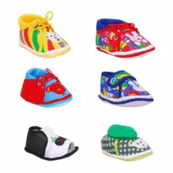 Brats N Angels Multicolor Casual Shoes For Kids - Pack Of 6