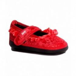 Indman Booty Red Ballerinas For Kids
