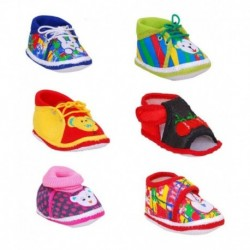 Brats N Angels Multicolour Baby Shoes - Pack of 6