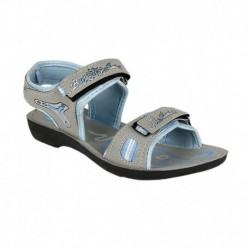 Super Matteress Gray Floater Sandal