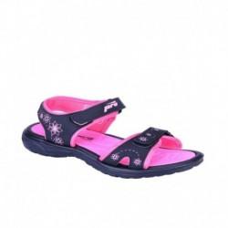 Khadims Black Floater Sandal