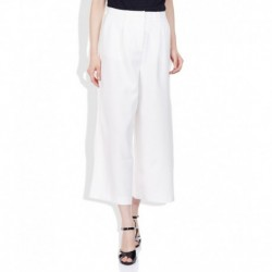 Vero Moda White Regular Fit Culottes